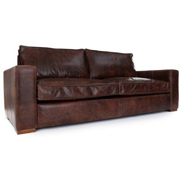 Best 20 Vintage Leather Sofa Ideas On Pinterest Leather Sofa Within Vintage Leather Sofa Beds (#3 of 15)