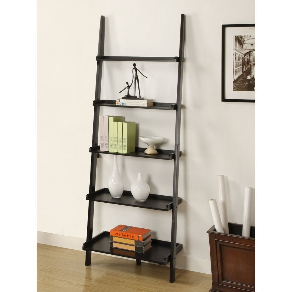 Best 22 Leaning Ladder Bookshelf And Bookcase Collection For Your Throughout Ladder Bookcase (#9 of 15)