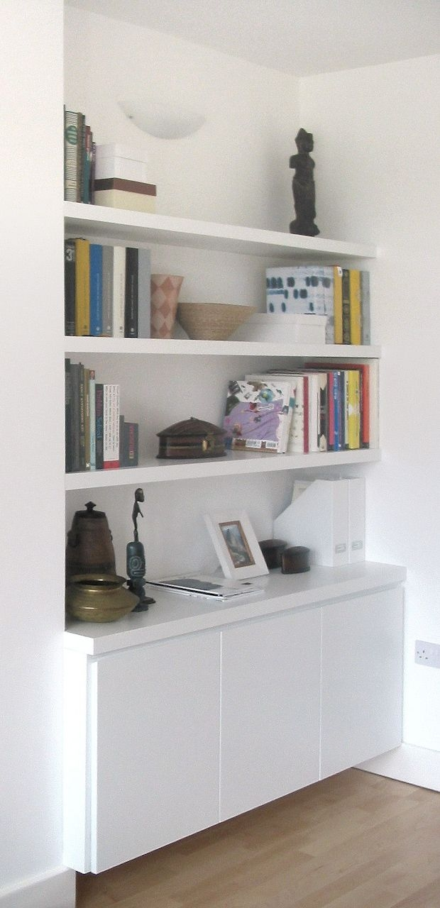 Best 25 Alcove Shelving Ideas On Pinterest Within Alcove Bookcase (View 13 of 15)