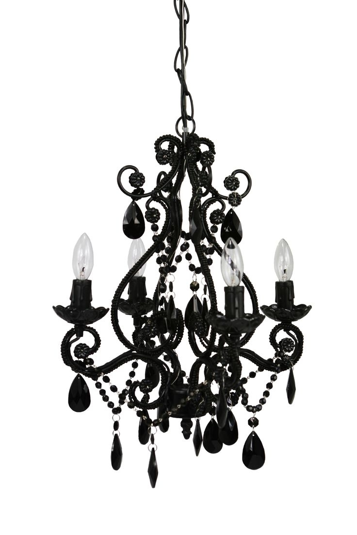 Best 25 Black Chandelier Ideas On Pinterest Pertaining To Vintage Black Chandelier (#1 of 12)