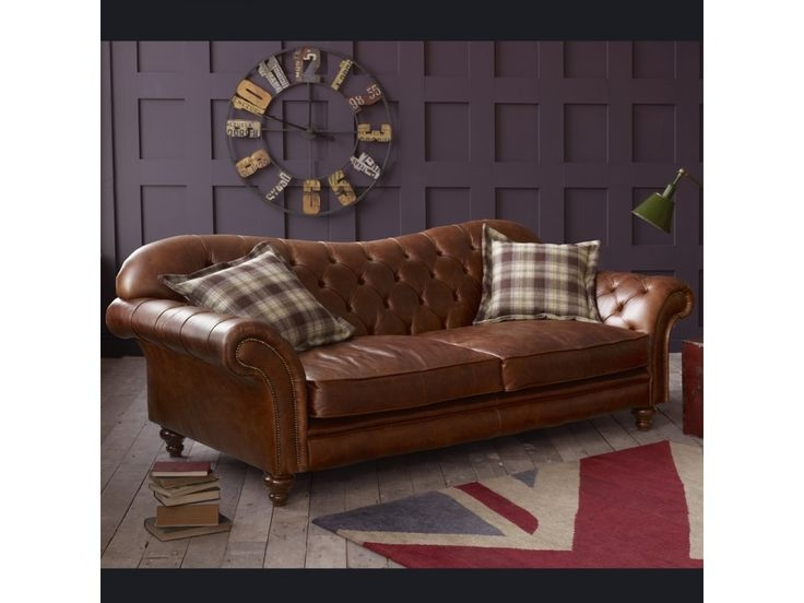 Best 25 Brown Leather Sofa Bed Ideas Only On Pinterest Leather With Regard To Vintage Leather Sofa Beds (#4 of 15)