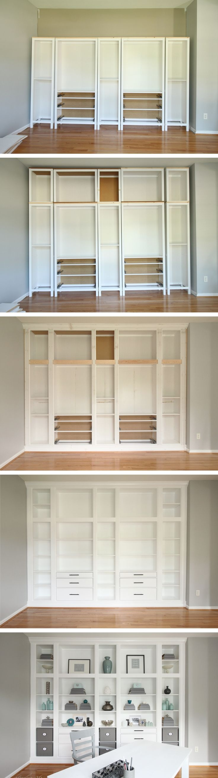 Best 25 Built In Bookcase Ideas On Pinterest Custom Bookshelves In Cupboard Bookcase (#1 of 15)