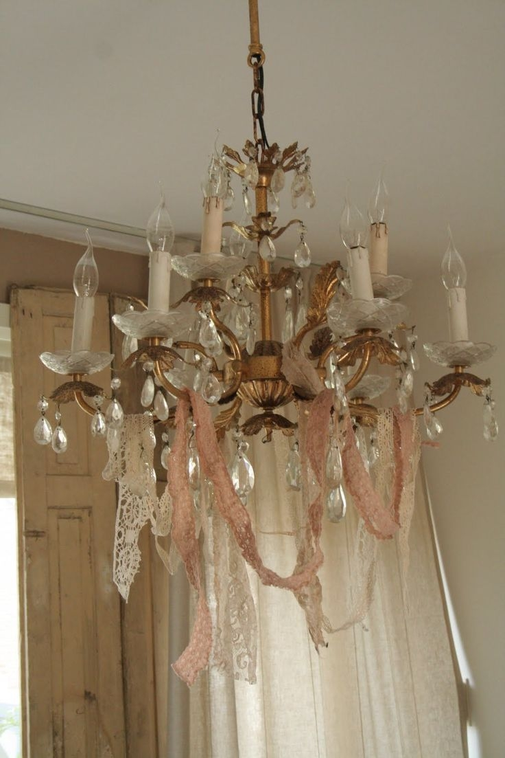 Best 25 Cheap Chandelier Ideas On Pinterest Pertaining To Country Chic Chandelier (#4 of 12)