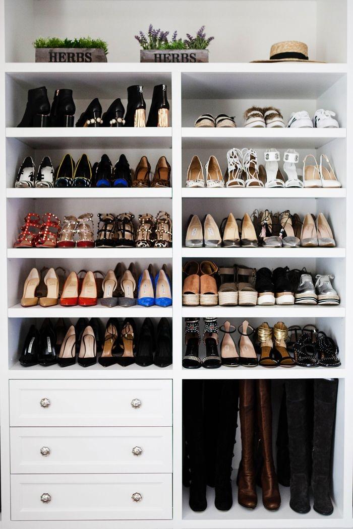 Best 25 Closet Shoe Storage Ideas On Pinterest Shoe Racks For Inside Wardrobe Shoe Storages (View 6 of 15)