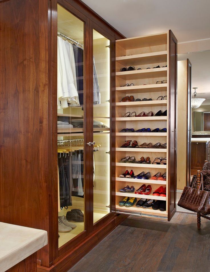 Best 25 Closet Shoe Storage Ideas On Pinterest Shoe Racks For Regarding Wardrobe Shoe Storages (View 14 of 15)