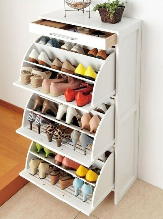 Best 25 Closet Space Ideas On Pinterest Bedroom Closet For Wardrobe Shoe Storages (View 7 of 15)