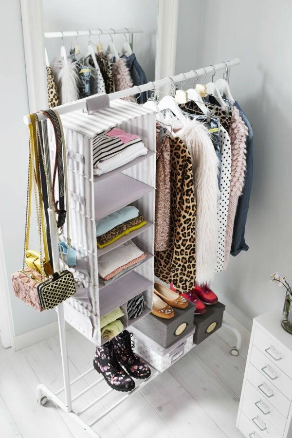Best 25 Clothes Storage Ideas Only On Pinterest Clothing Within Wardrobe Hangers Storages (#7 of 15)