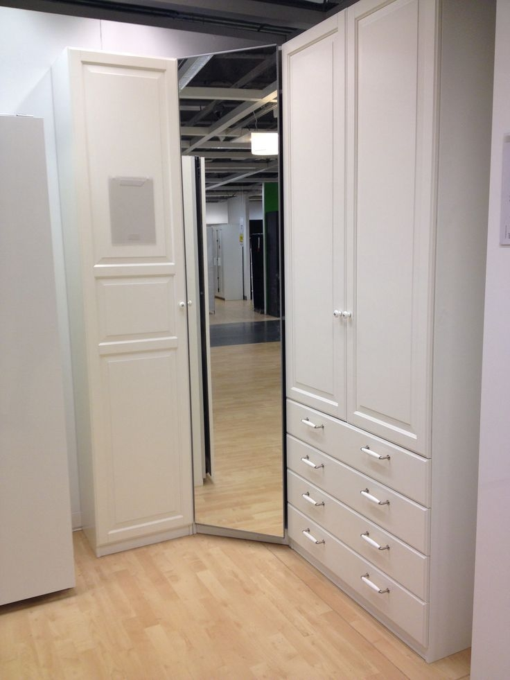 Popular Photo of Corner Wardrobe Closet IKEA