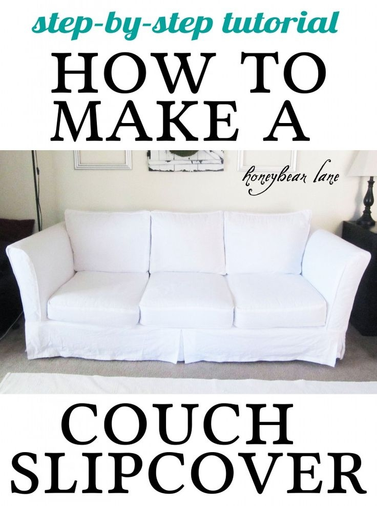 Best 25 Couch Covers Ideas On Pinterest Couch Cushion Covers With Large Sofa Slipcovers (#2 of 15)