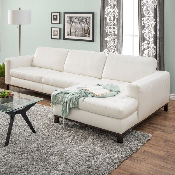 Best 25 Cream Leather Sofa Ideas On Pinterest Cream Sofa With Regard To Cream Sectional Leather Sofas (#3 of 15)