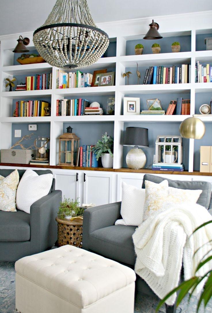 Living Room Bookshelf Ideas: 15 Ideas Of Custom Made Bookshelf