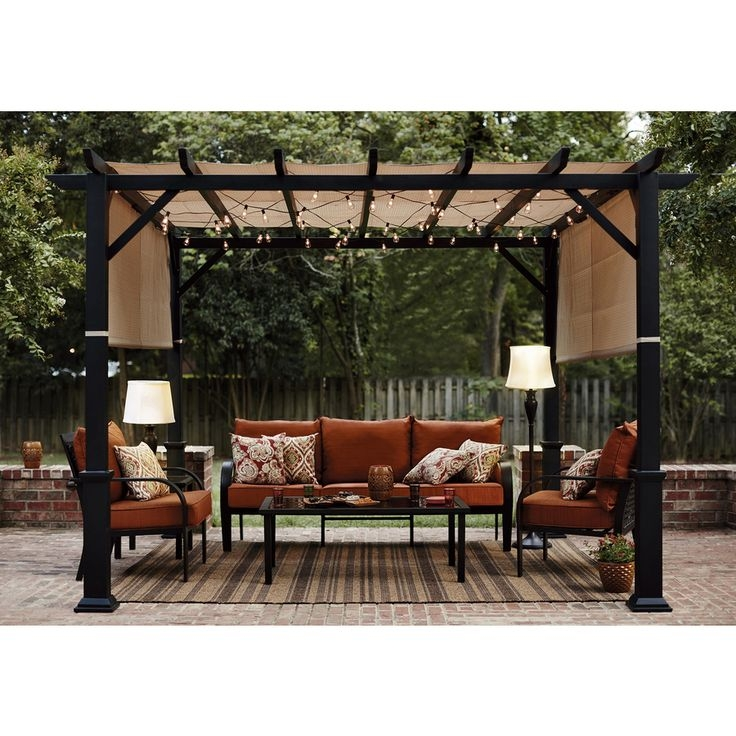 Best 25 Deck Canopy Ideas On Pinterest Shade For Patio Porch Pertaining To Outdoor Sofas With Canopy (#2 of 15)