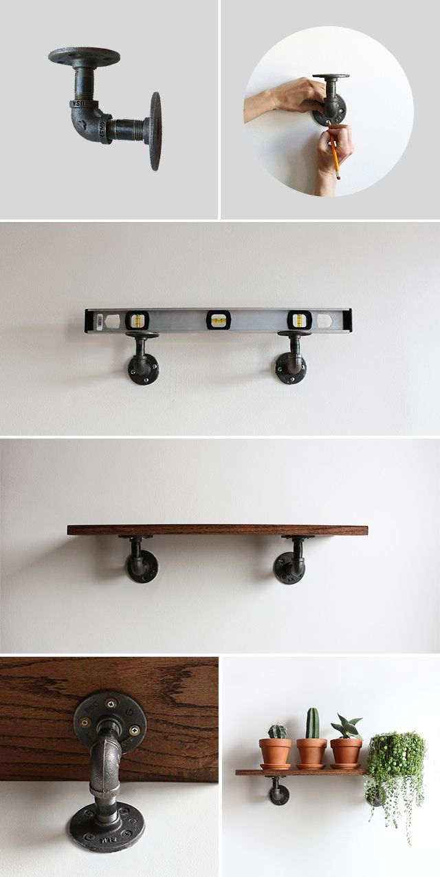 Best 25 Diy Wall Shelves Ideas On Pinterest Within Wall Shelves (#2 of 12)