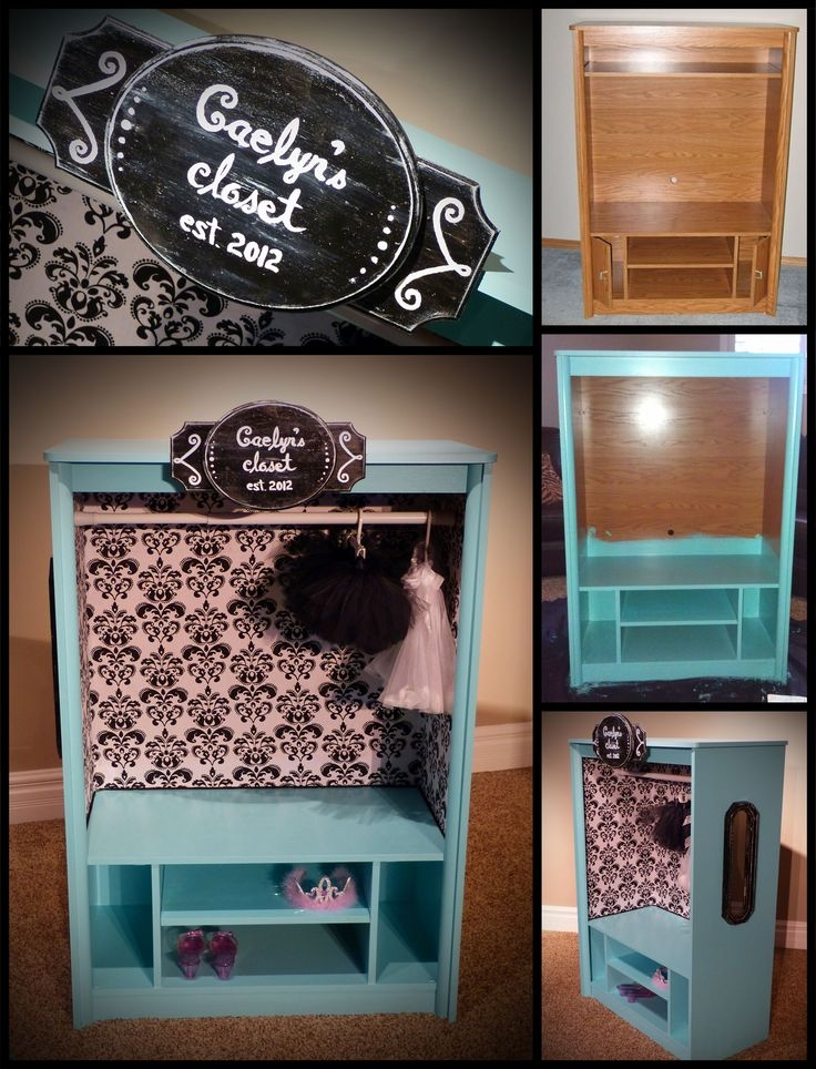 Best 25 Dress Up Closet Ideas On Pinterest Dress Up Storage For Kids Dress Up Wardrobe Closet (View 10 of 15)