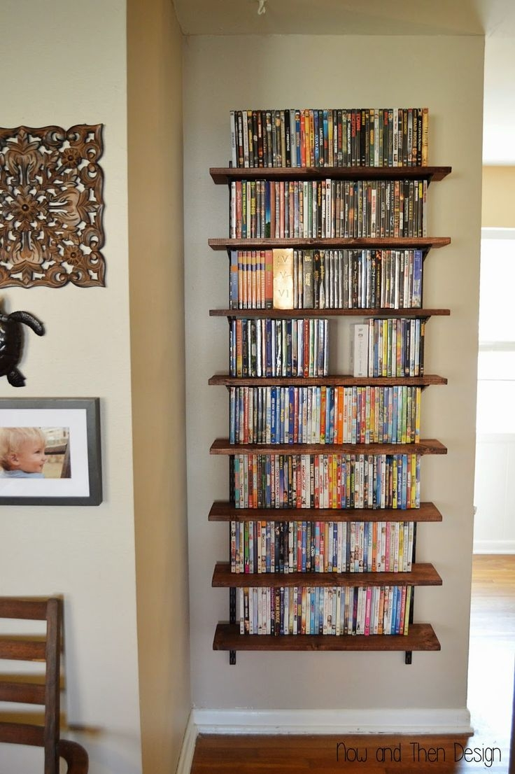 Best 25 Dvd Storage Shelves Ideas On Pinterest With Regard To Invisible Dvd Shelf (#3 of 12)