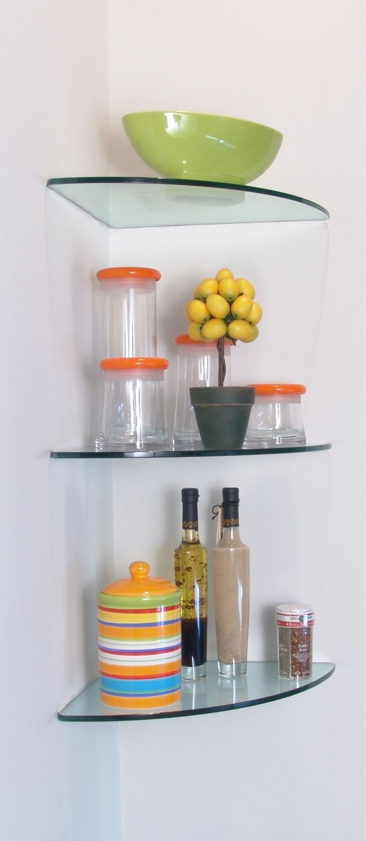 Best 25 Floating Glass Shelves Ideas On Pinterest Intended For Floating Glass Shelves (#1 of 15)