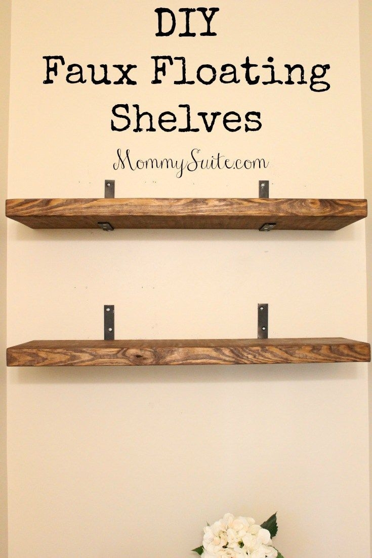 Best 25 Floating Shelves Ideas On Pinterest Inside Floating Shelves (#3 of 12)