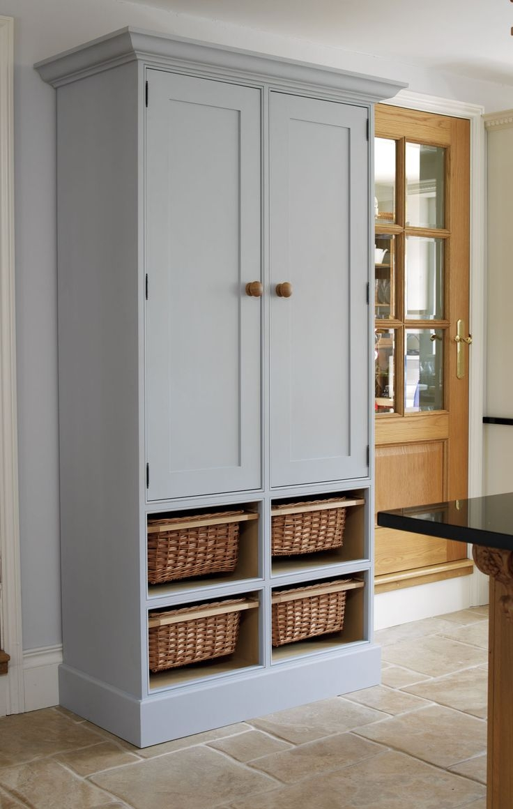 Best 25 Free Standing Pantry Ideas On Pinterest Throughout Free Standing Storage Cupboards (View 5 of 12)