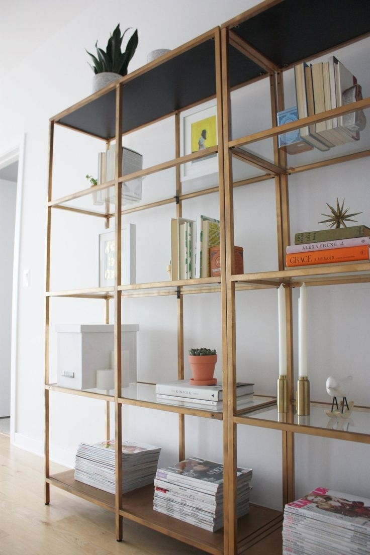 Best 25 Glass Shelving Unit Ideas On Pinterest Throughout Living Room Glass Shelves (#2 of 12)