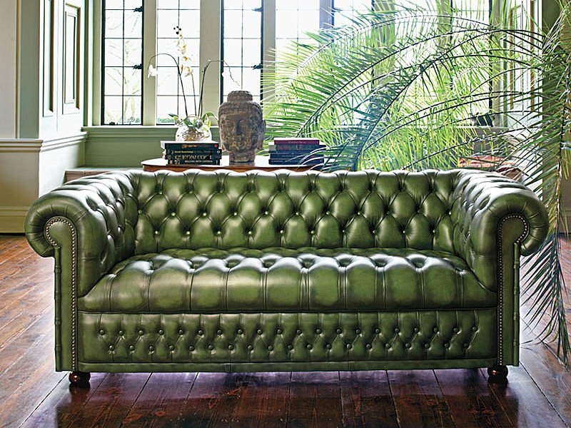Best 25 Green Leather Sofas Ideas On Pinterest Dining Chairs Within Green Sofa Chairs (View 15 of 15)