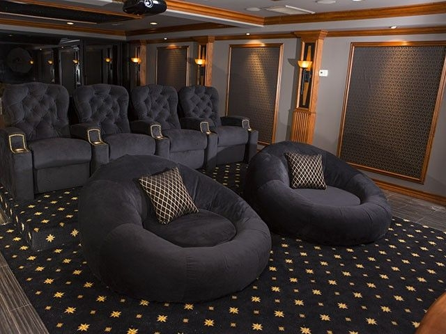 Best 25 Home Theater Seating Ideas That You Will Like On Inside Theater Room Sofas (#1 of 15)