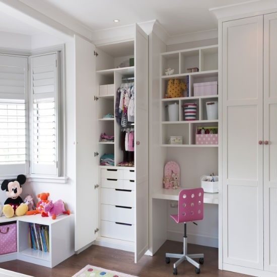 Childrens bedroom wardrobes