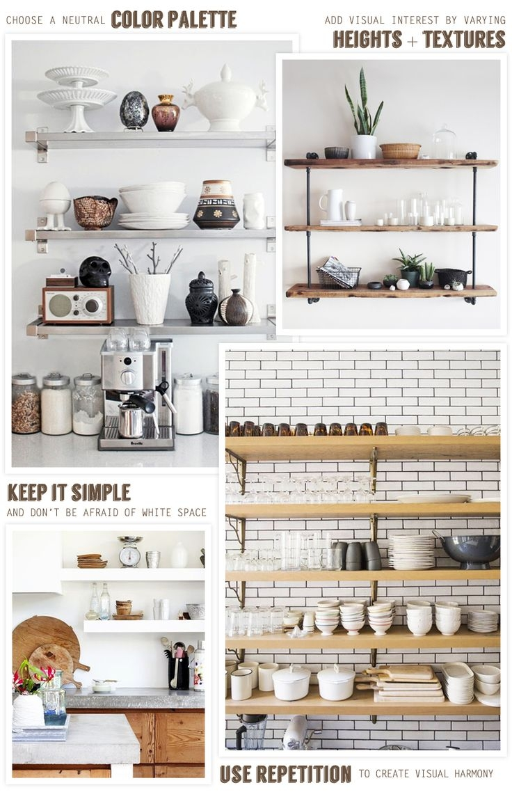 Best 25 Kitchen Shelves Ideas On Pinterest Intended For Kitchen Shelves (#3 of 12)