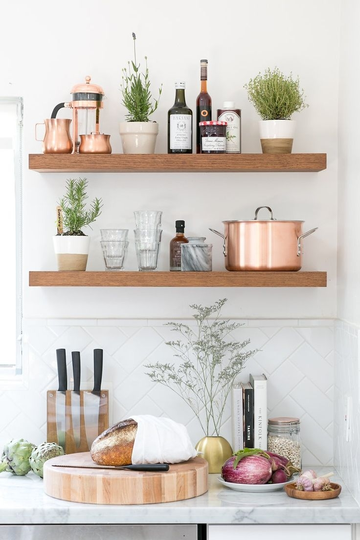 Best 25 Kitchen Shelves Ideas On Pinterest Pertaining To Kitchen Shelves (#4 of 12)