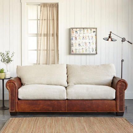 Best 25 Leather Couch Covers Ideas On Pinterest Southwestern In Slipcover For Leather Sofas (#4 of 15)