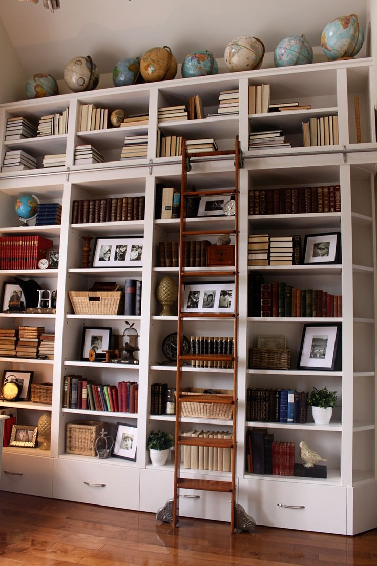 Best 25 Library Wall Ideas On Pinterest Within Library Wall Bookshelves (#1 of 15)