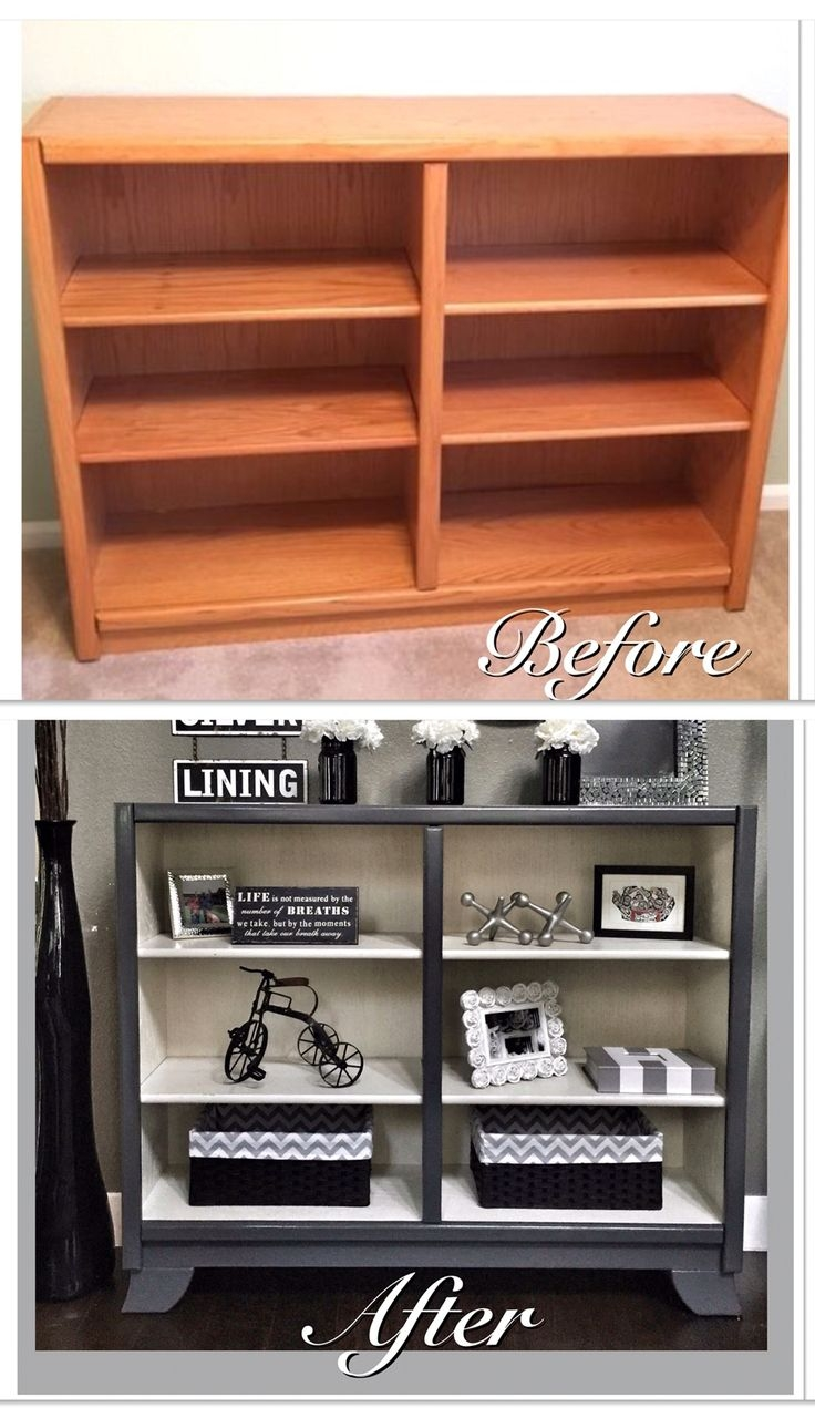 inspiration about best 25 painted bookshelves ideas on pinterest throughout painted oak bookcase 11 - Painted Bookshelves Ideas