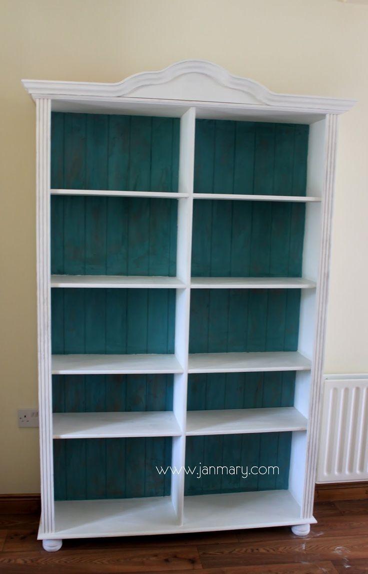Best 25 Pine Bookcase Ideas On Pinterest Pertaining To Painted Bookshelf (#5 of 15)