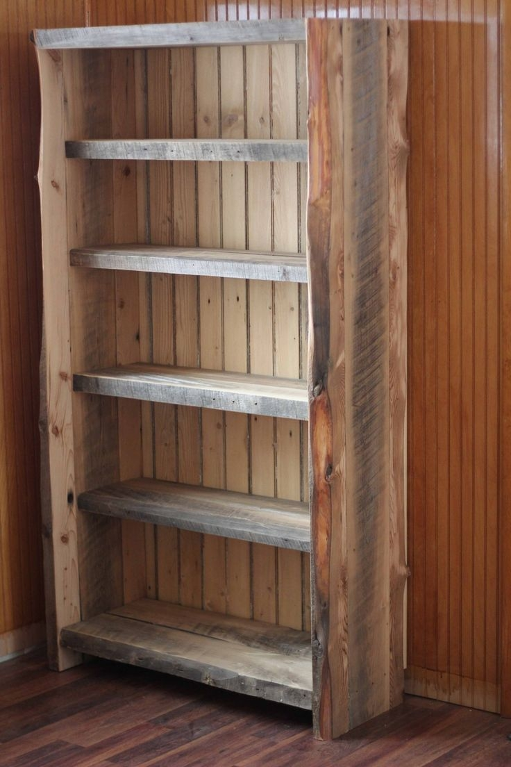 Best 25 Reclaimed Wood Bookcase Ideas On Pinterest Within Handmade Bookcases (#2 of 15)