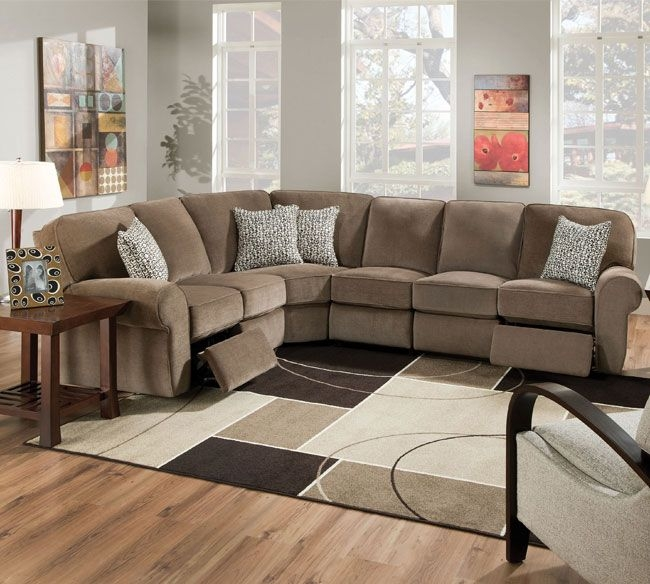 Best 25 Reclining Sectional Sofas Ideas On Pinterest Reclining Inside Sectional  Sofa Recliners (#2