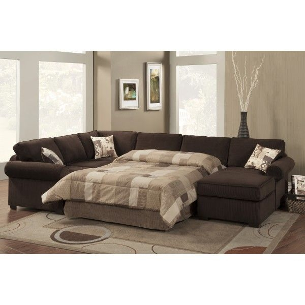 Best 25 Sectional Sleeper Sofa Ideas Only On Pinterest Sleeper In Sectional Sofas With Sleeper And Chaise (#3 of 15)