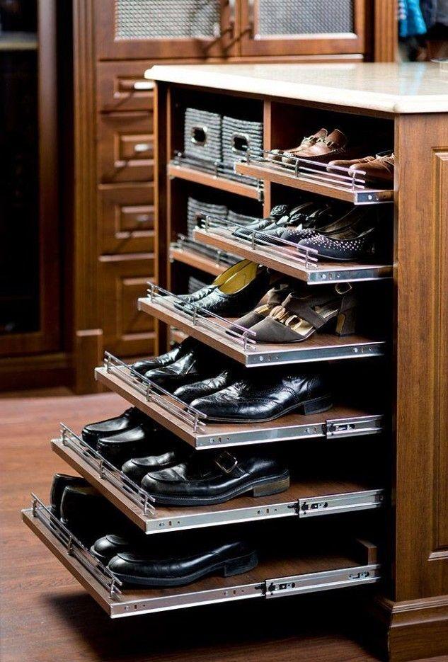 Best 25 Shoe Storage Solutions Ideas On Pinterest Shoe Storage In Wardrobe Shoe Storages (View 4 of 15)