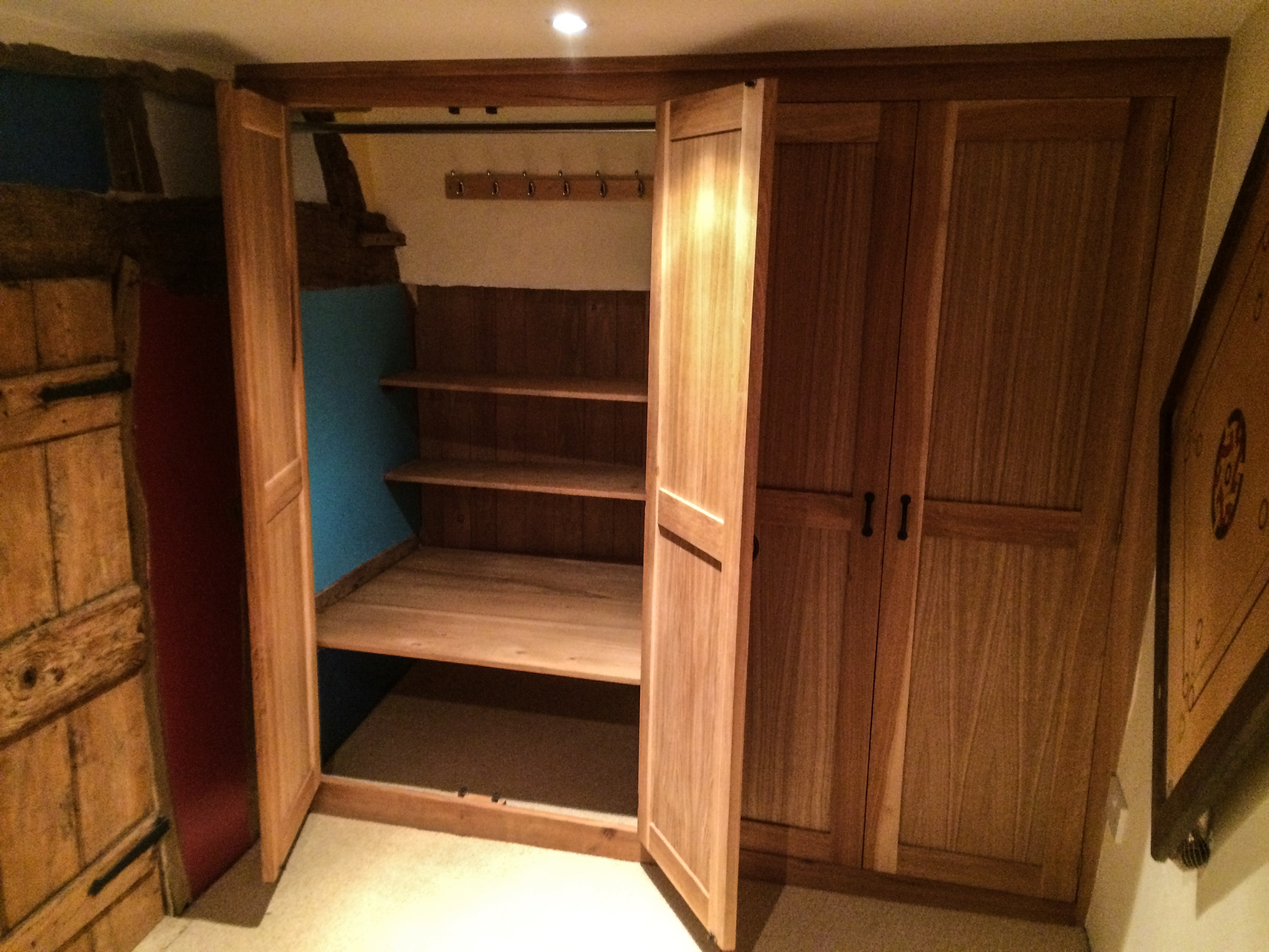 Best 25 Solid Oak Wardrobe Ideas On Pinterest With Regard To Solid Wood Built In Wardrobes (View 3 of 15)