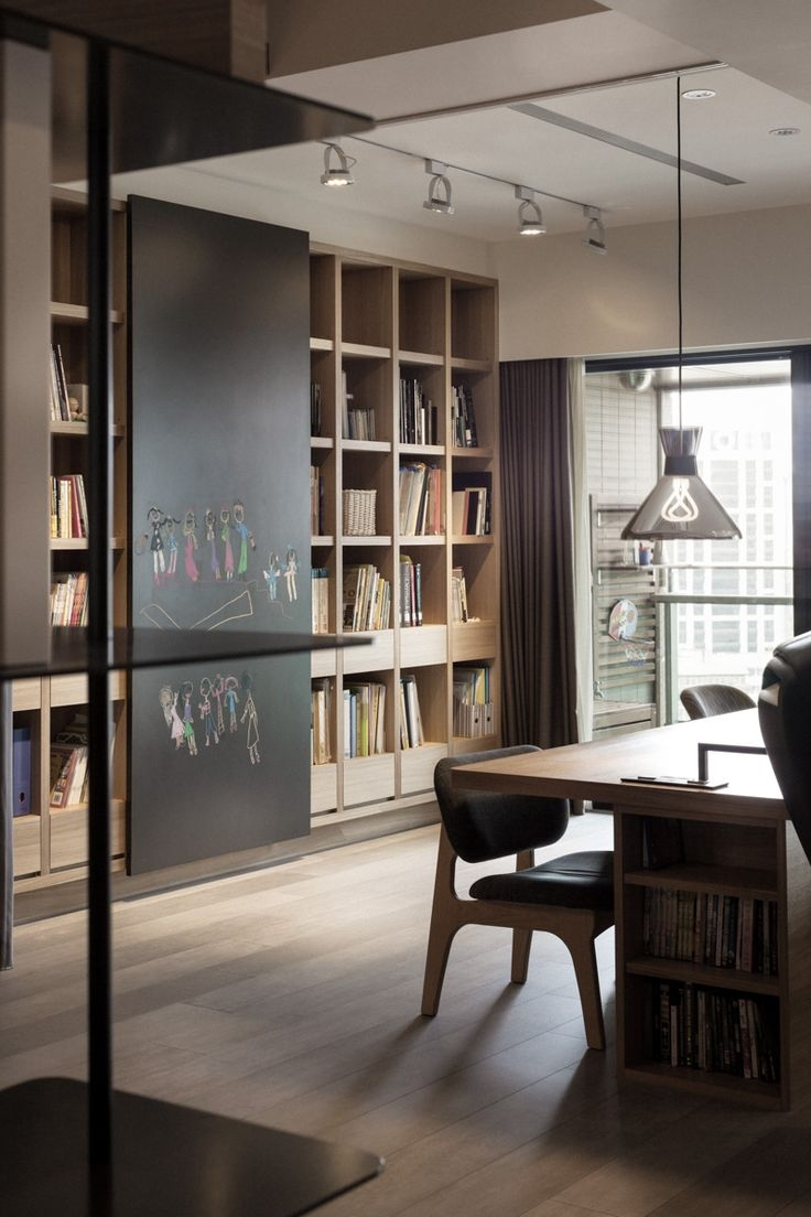 Best 25 Study Room Design Ideas On Pinterest Within Study Shelving (View 5 of 15)