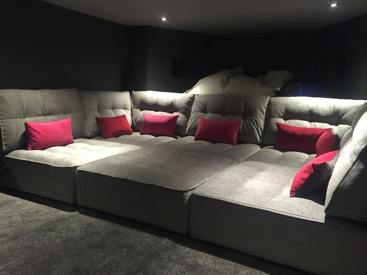 Popular Photo of Theater Room Sofas