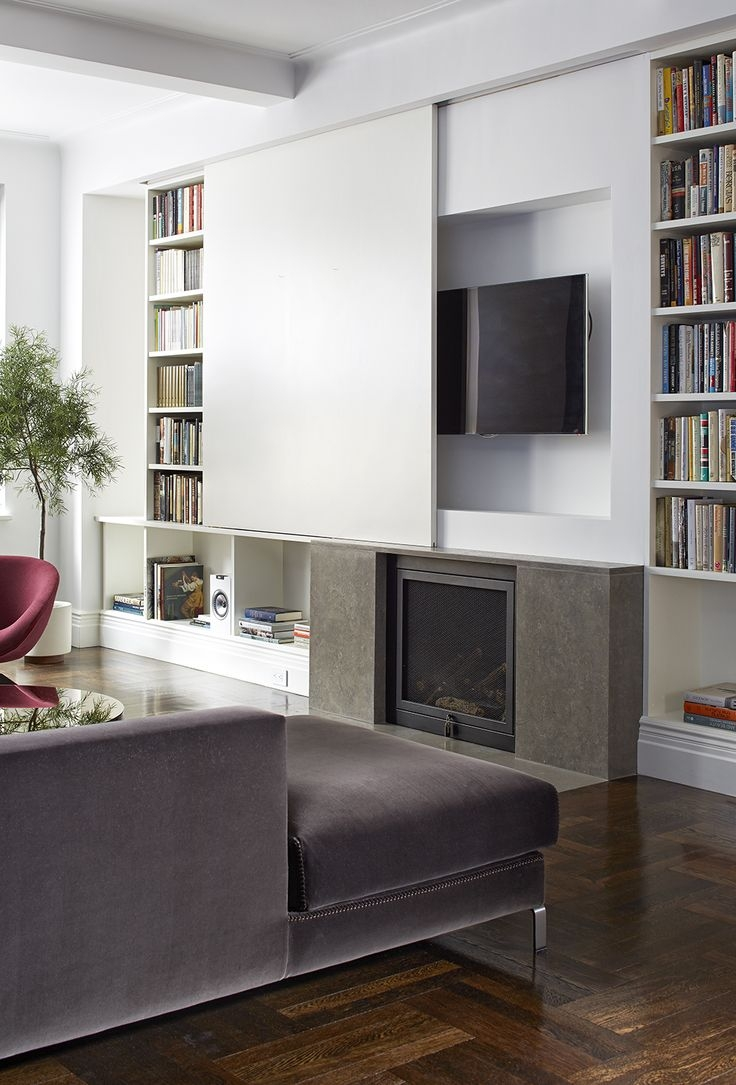 Best 25 Tv Bookcase Ideas On Pinterest With Bookcase With Tv Space (View 4 of 15)