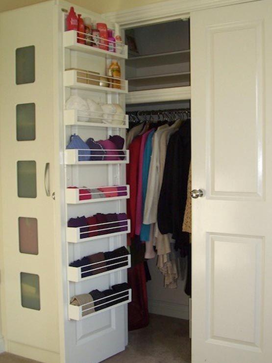Best 25 Wardrobe Organiser Ideas On Pinterest Wardrobe Interior Intended For Wardrobe Hangers Storages (#9 of 15)