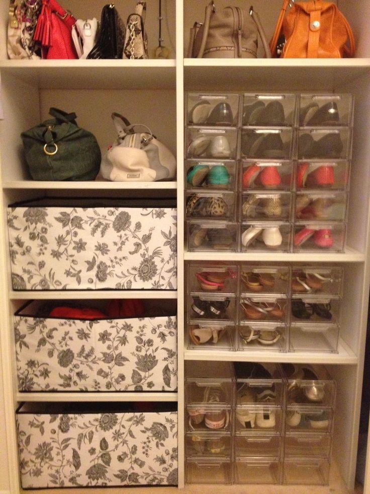 Best 272 Shoe Storage Images On Pinterest Home Decor Regarding Wardrobe Shoe Storages (View 10 of 15)
