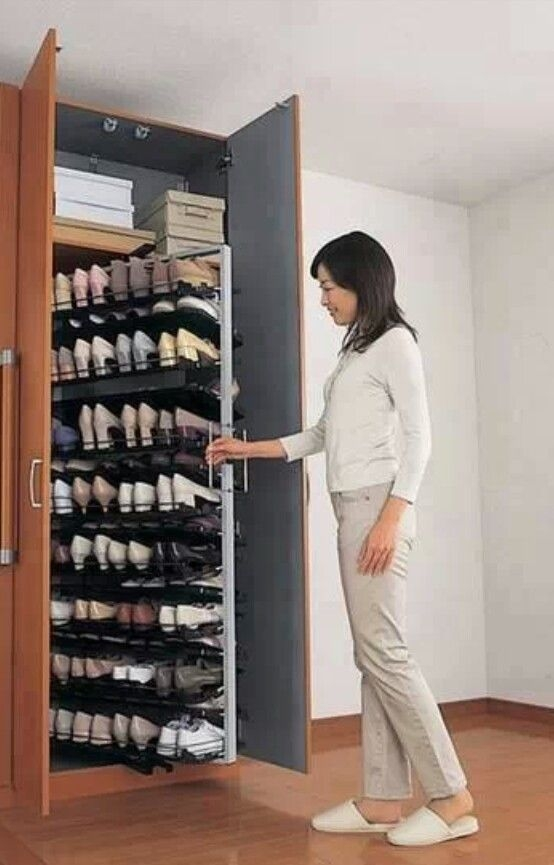 Best 272 Shoe Storage Images On Pinterest Home Decor With Wardrobe Shoe Storages (View 11 of 15)