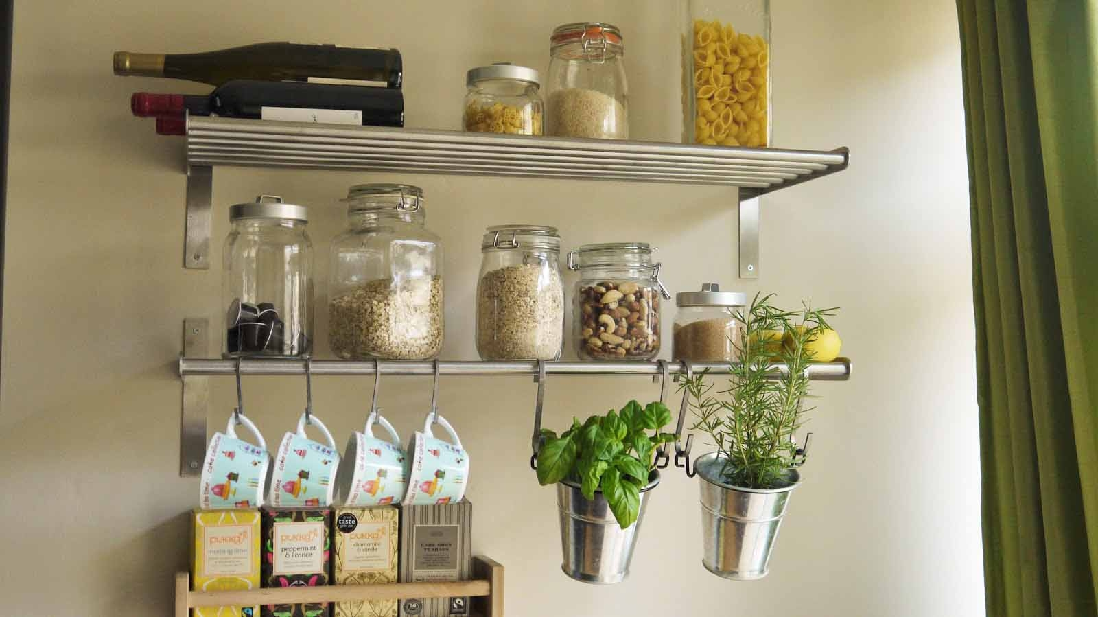 Best Kitchen Wall Shelves Contemporary Aisling Aisling Intended For Kitchen Wall Shelves (#6 of 12)
