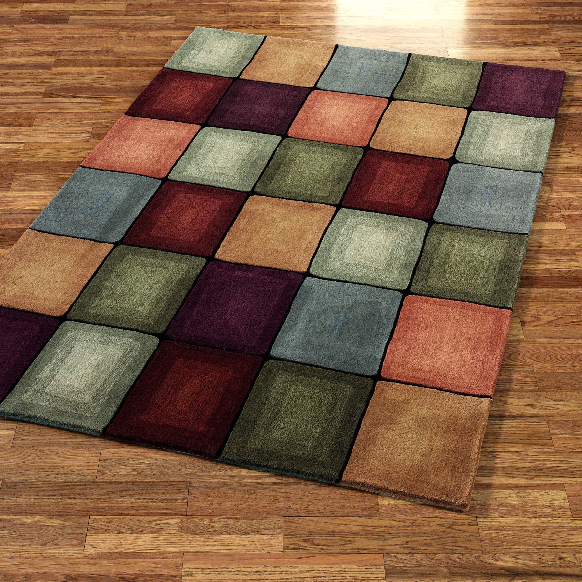 15 collection of contemporary wool area rugs - How to make a wool accent rug work for your space ...