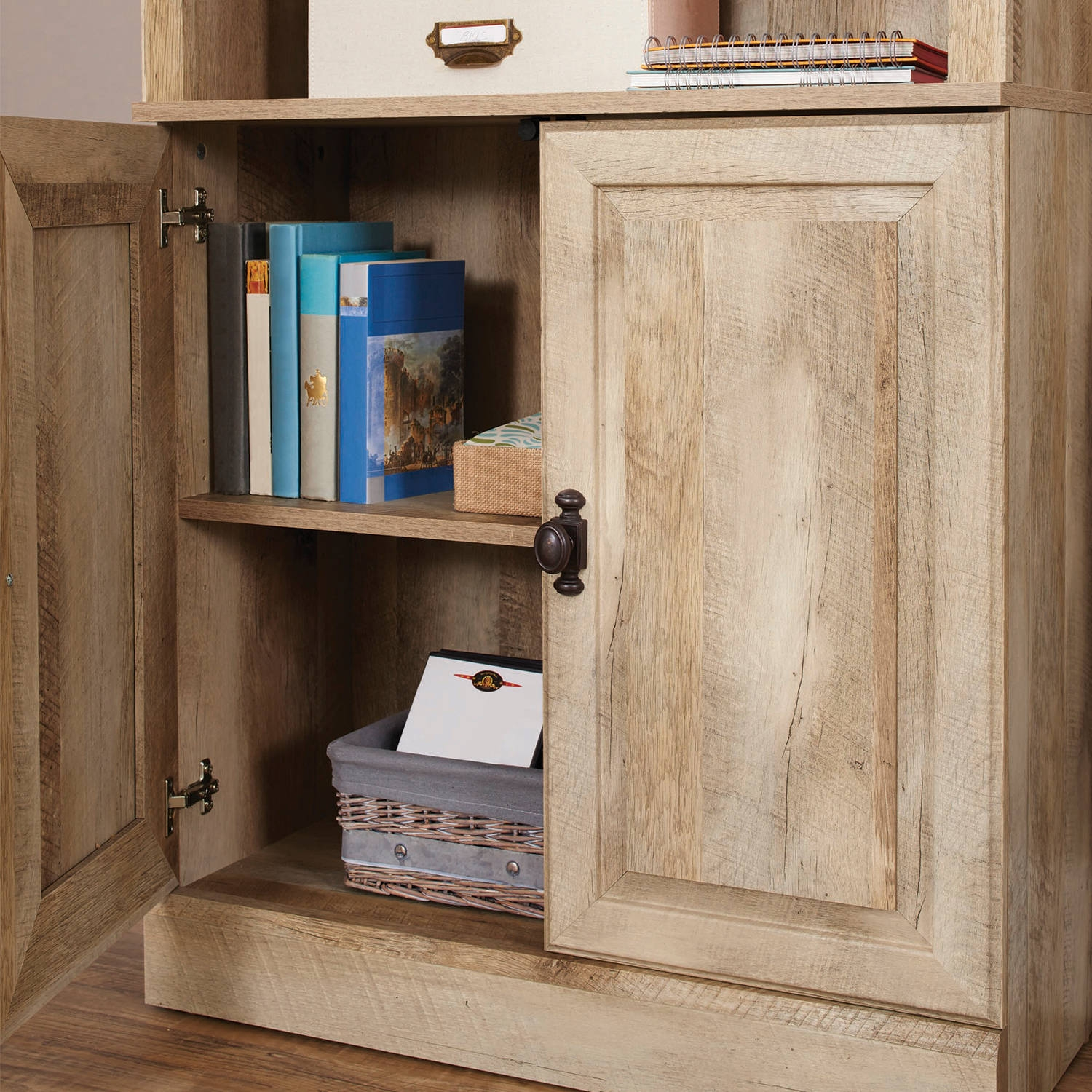 Better Homes And Gardens Crossmill Bookcase With Doors Multiple Throughout Bookcase With Doors (View 4 of 15)