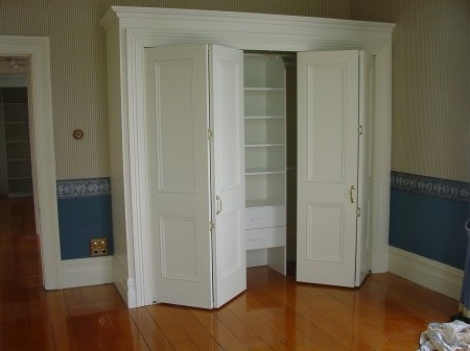 Bi Fold Doors Total Door Systems 2007 Limited Rotorua Throughout Folding Door Wardrobes (#3 of 15)