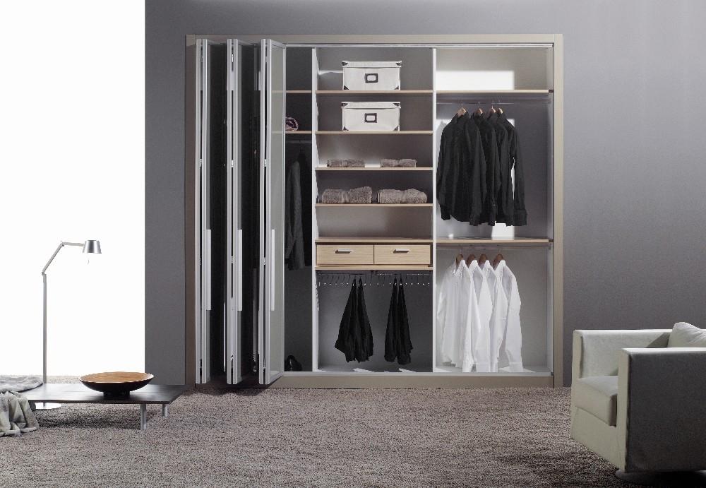 Popular Photo of Folding Door Wardrobes