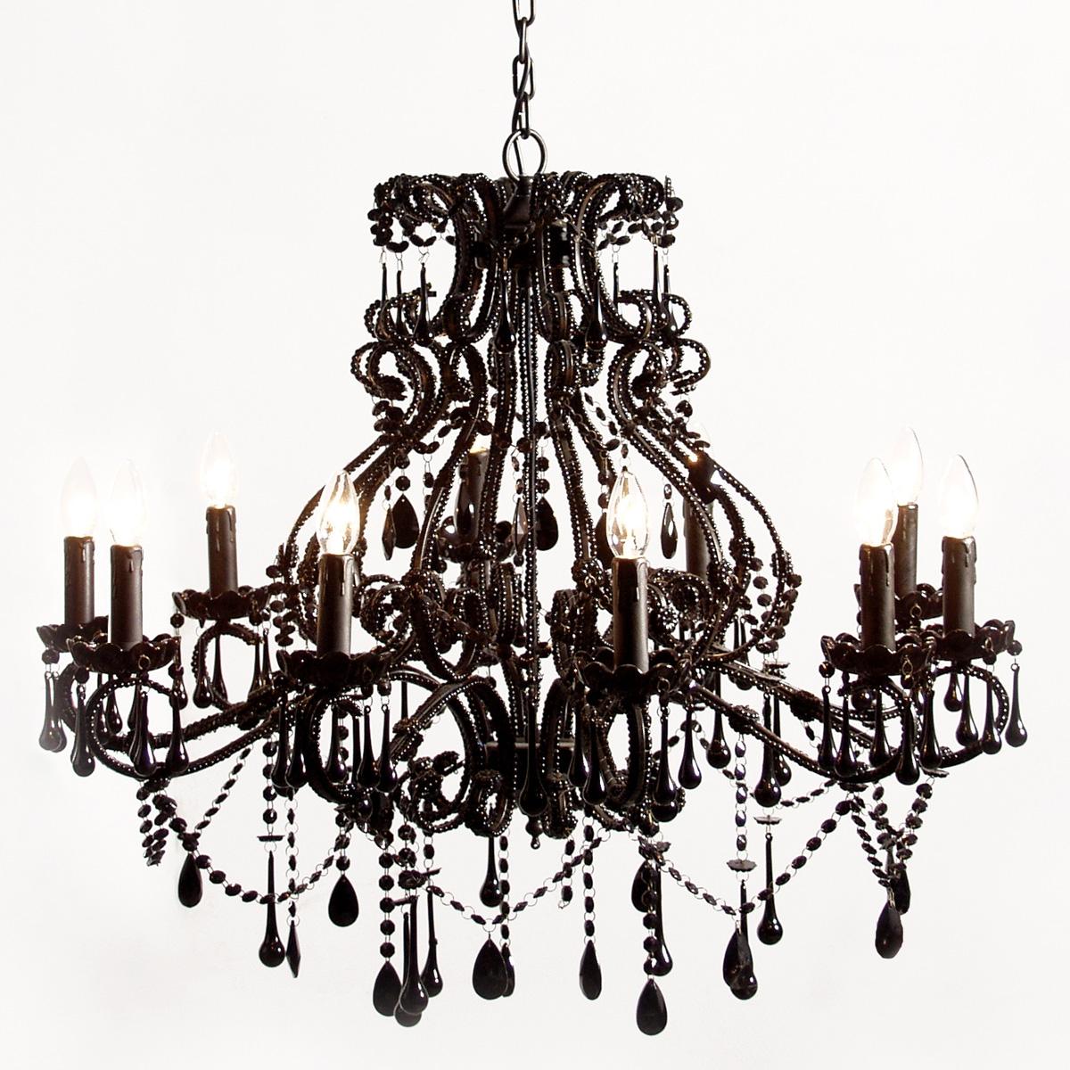 Big Black Chandelier Furniture Ideas For Large Black Chandelier (#2 of 12)