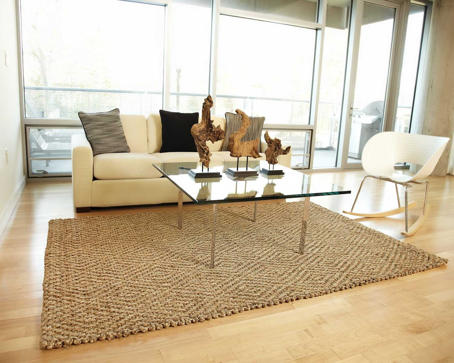 Big Sur Jute Anji Mountain Natural Fiber Area Rugs With Regard To Jute And Wool Area Rugs (#2 of 7)